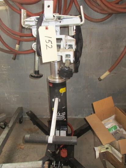 Omega 1/2 ton air actuated telescopic trans jack
