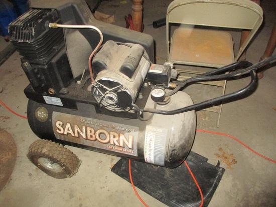 Sanbor 155 psi 20 ga. port. air compressor