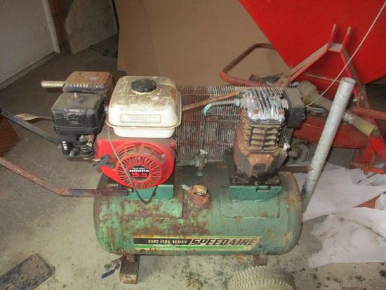Speedaire 20 gal. w/5.5 Honda gas engine