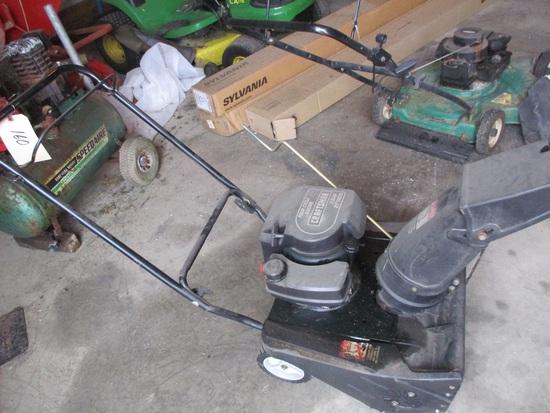 """Craftsman 3.8 hp 21"""" snowblower"""