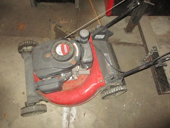 "Huskee 21"" power mower 139cc"
