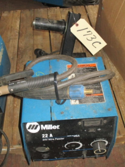 Miller 22A wire feeders w/guns and cords