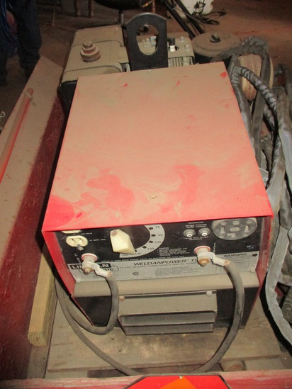 Lincoln Weldan Power 150 welding power and ac power generator