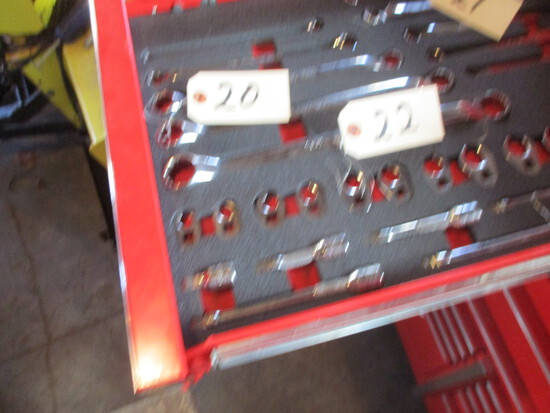 Snap-On 5 pc. SAE box wrenches