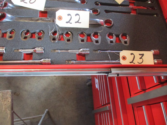 """Snap-On 6 pc. 3/8"""" wobble socket extensions"""