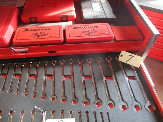 Snap-On 16 pc. wrench set 9mm-24mm