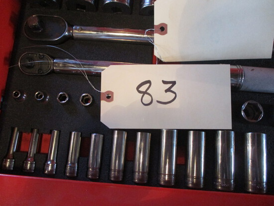 Snap-On 3/8 11 pc. SAE deep socket set