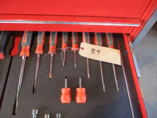 Snap-On 11 pc. screwdriver set