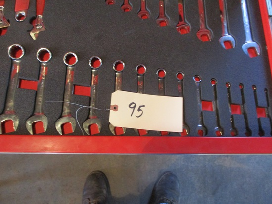 Snap-On 14 pc. SAE stubby wrench set