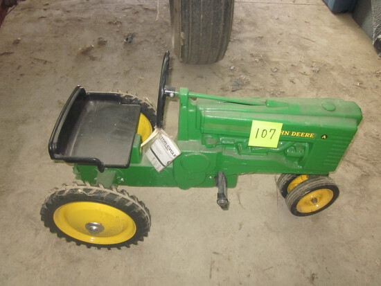 (2) DAY KNAPP FARM TOY & PEDAL TRACTOR AUCTION