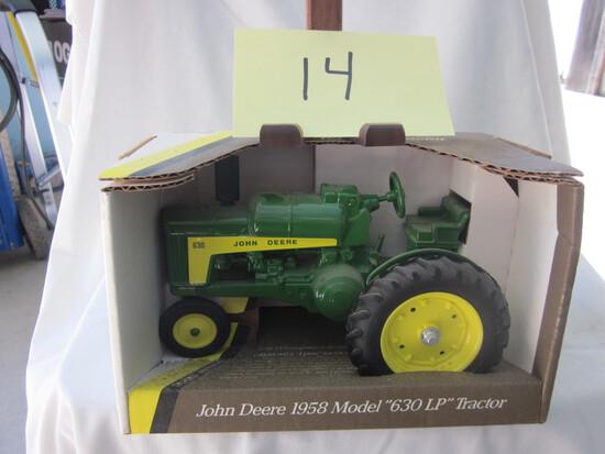 1958 JD 630LP Tractor-NIB-1:16