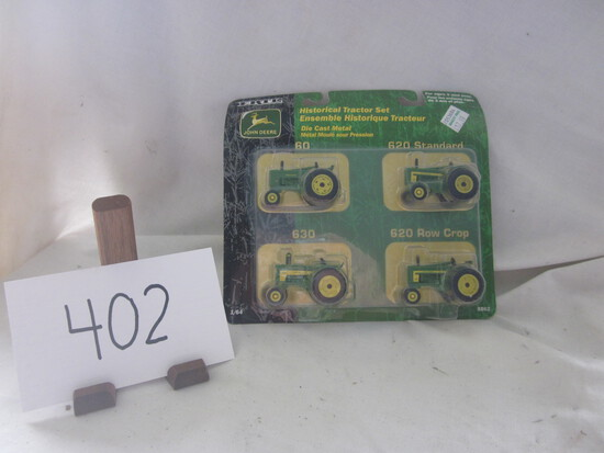 JD Historical tractor set NIB 1:64