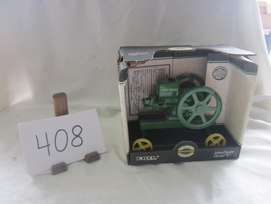 JD E vintage gas eng. tractor NIB 1:16