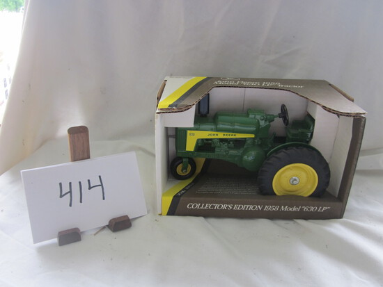 1958 JD 630LP Tractor-NIB-1:16