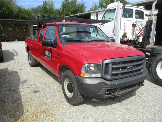 2007 Ford F-250 XL Super Duty, ext. cab