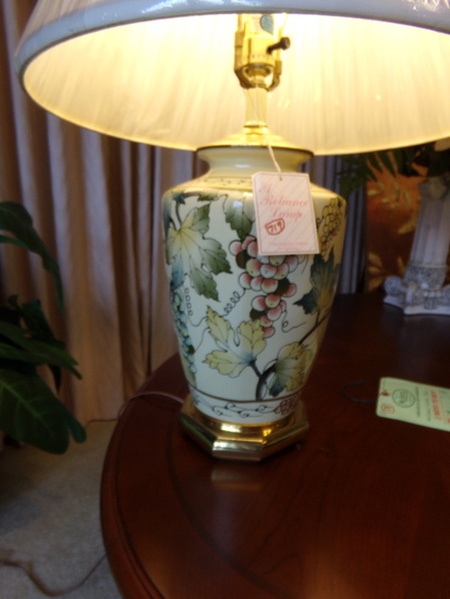Flowered Lamp