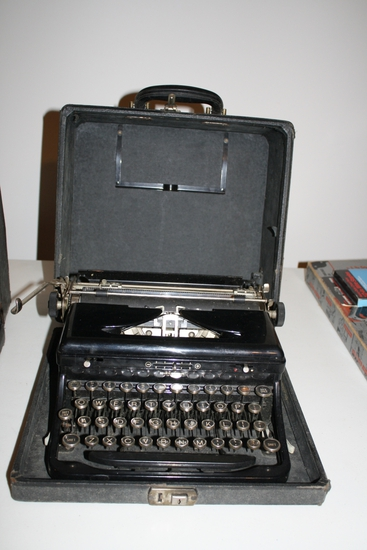 Touch Control Typewriter in case
