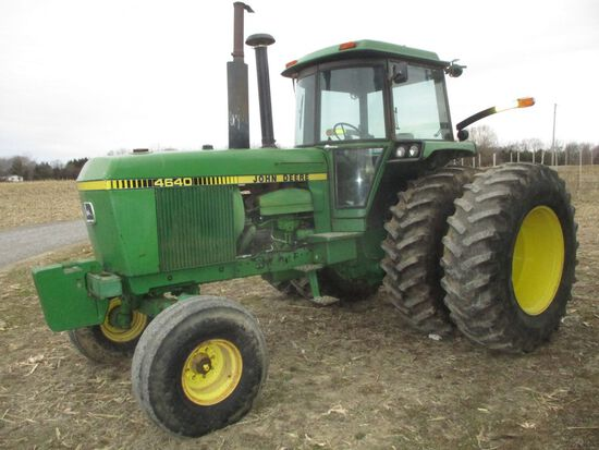 '79 JD 4640, C/H/A, Power shift, 20.8 R38 rears, 10 bolt axle duals