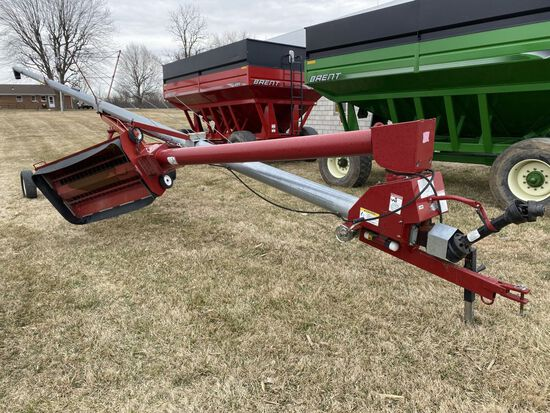 "8"" x 62"" Mayrath Model MR SY62 trans. grain auger"