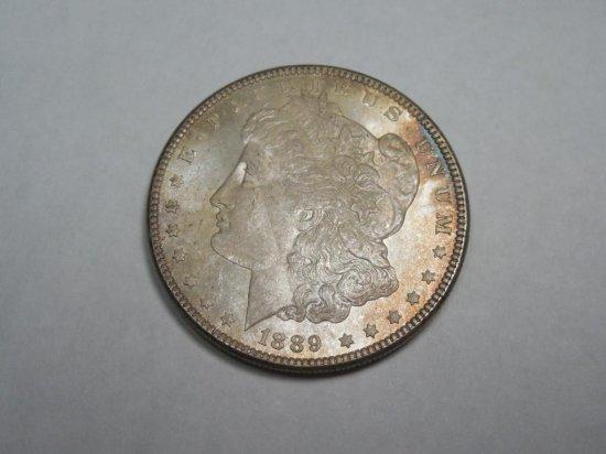 ~MS66 1889-P Morgan Dollar Silver Coin