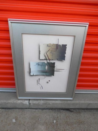 Unusual Signed Modern Painting