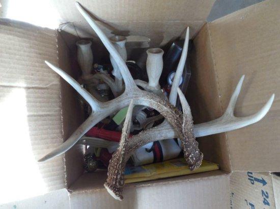 Deer Antlers PLUS Vintage Items
