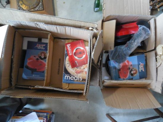 Group Lot of NEW XPree Redi Set Go Cookers