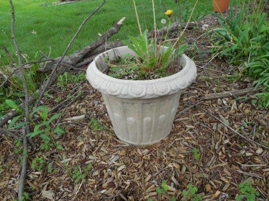 Plastic Garden Flower Pot