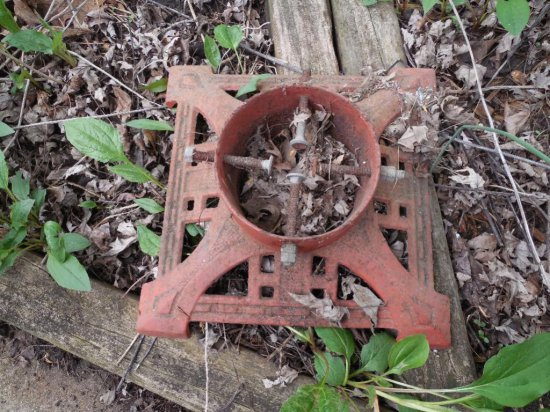 Antique Metal Christmas Tree Stand