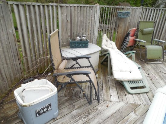 Gravity Chairs, Cooler, Outdoor Etc
