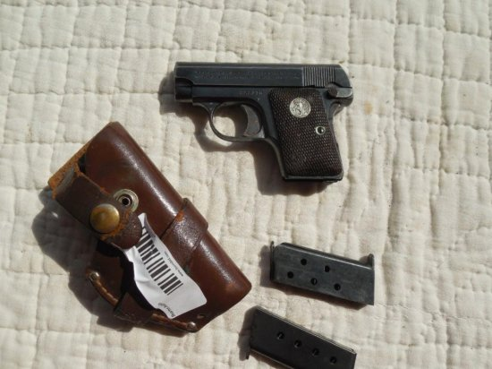 Colt Model 1908 Semi Auto Pistol in 25 Cal