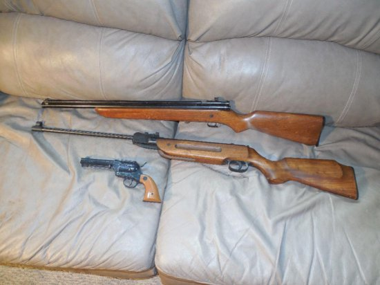 Group Lot of 3 Air Guns Inc. Winchester 600X