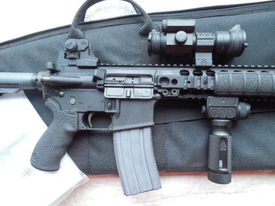 Lewis Machine & Tool Co. AR-15 w/Vortex Scope