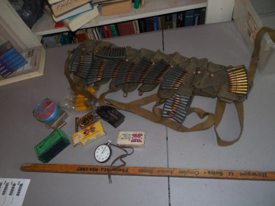 Huge Lot of Ammo Mostly 7.62 x 39 Military w/Bag