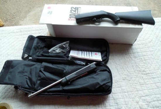 Take Down Ruger 10-22 Stainless Barrel Like New