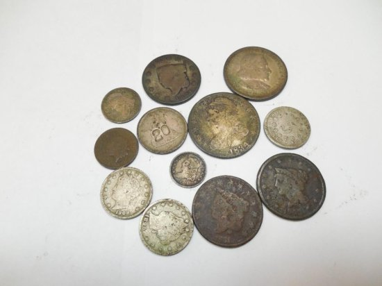 Group Lot US Silver etc Type Coins