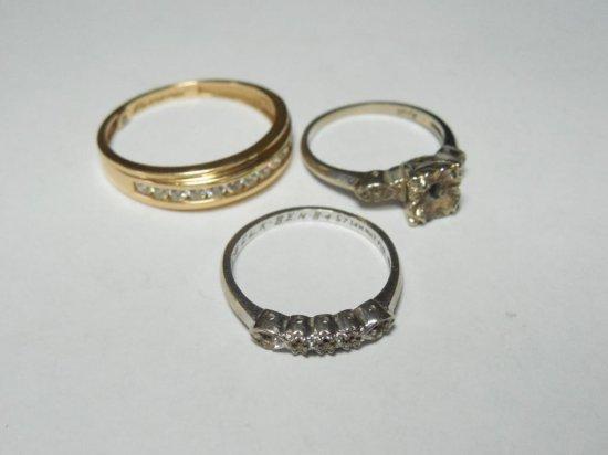 3 14 Gold Rings
