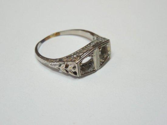18k Gold Ring Setting 1930s