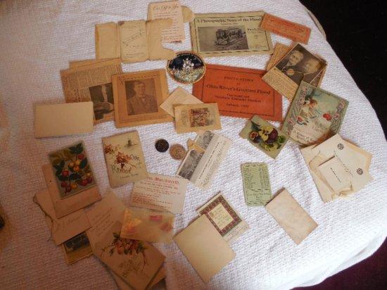 Large Lot Unusual Antique Ephemera & Paper