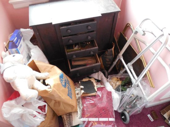 Contents of Cabinet PLUS Surrounding Items Lot