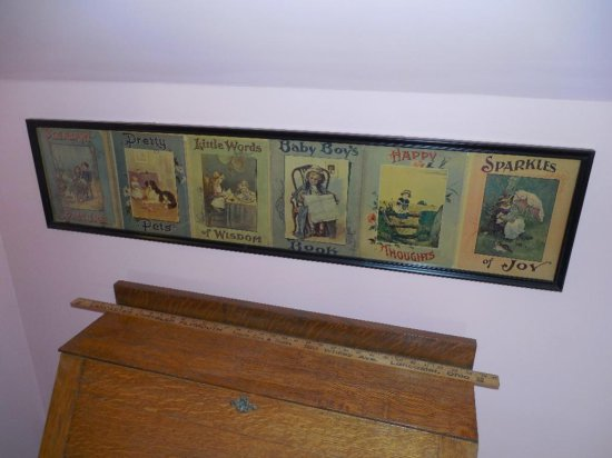 Framed Children's Book Covers w/Characters