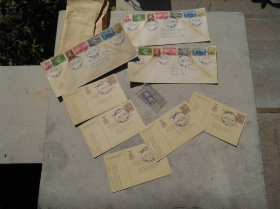 Group Lot WWII Philippines Victory First Day Covers
