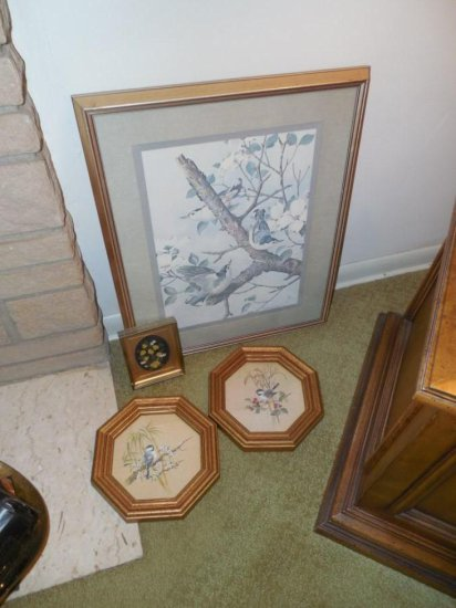 Group Lot of Vintage Art