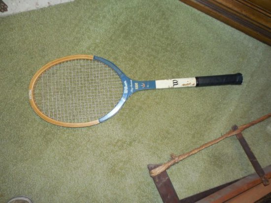 Old Tennis Racket Lot