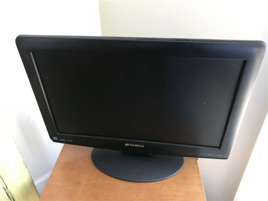 Sansui Small Sized Television With Remote