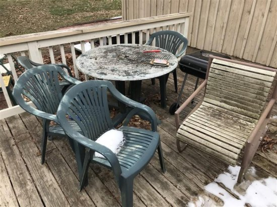 Group Of Misc. Patio Furniture