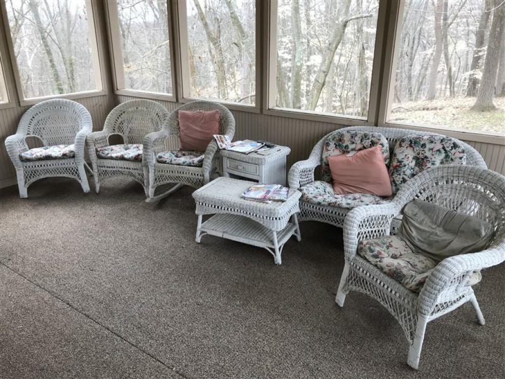 Vintage Real Wicker Patio Furniture