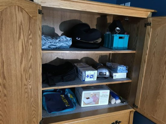 Contents or Armoire - See photos
