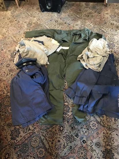 Group Vintage Air Force Uniforms Inc. Silver Bars