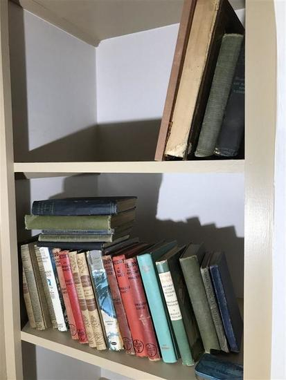 Group Lot Vintage and Antique Books